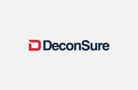 Projektowanie logo w Anglii DeconSure